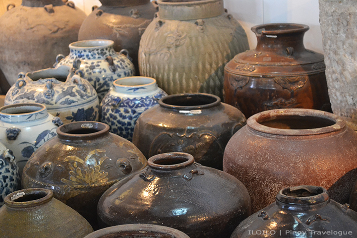 Asian tradewares at Museo Iloilo