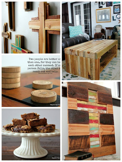 reclaimed wood projects, recipes, verses