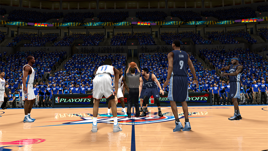 Thunder 2014 Playoffs | NBA 2K14