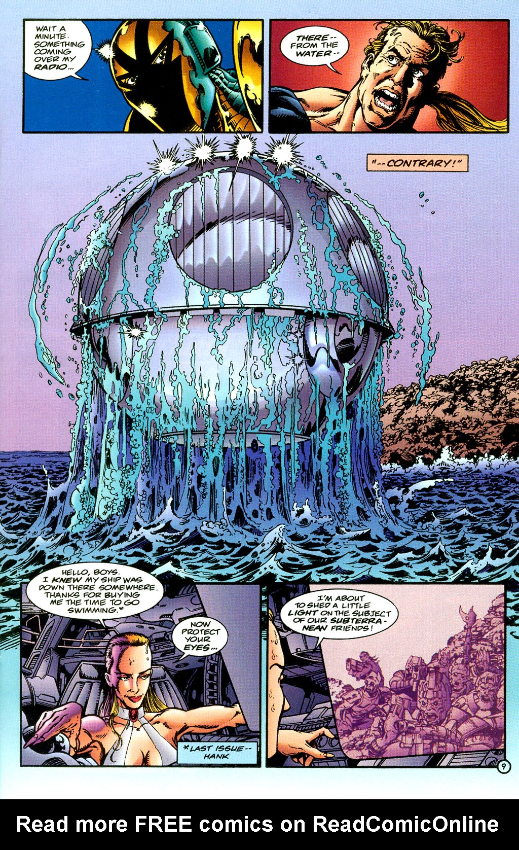 Read online UltraForce (1994) comic -  Issue #6 - 9