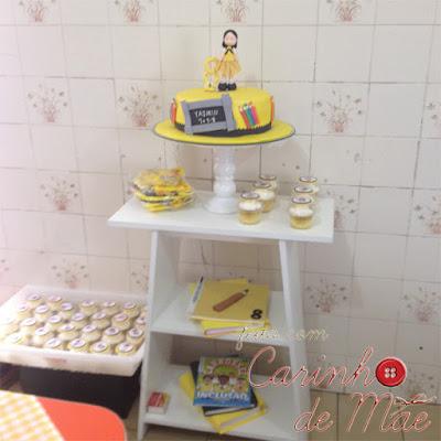 Festa Carrossel bolo