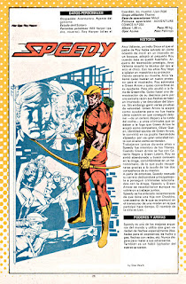 Veloz ficha DC Flecha Roja