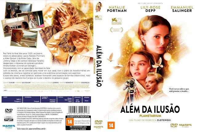 Capa DVD Além da Ilusão [Exclusiva]
