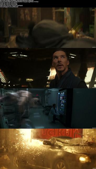 Doctor Strange 2016 BluRay 720p Dual Audio DD 5.1 Hindi