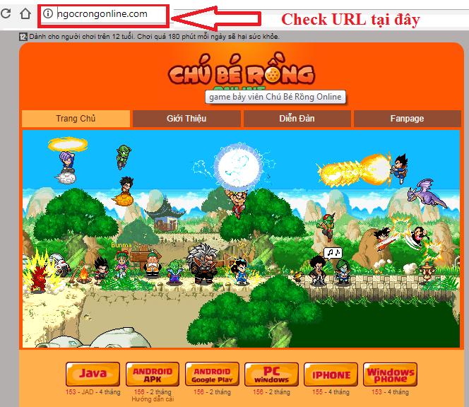 Cách bảo mật nick ngọc rồng khi mua bán - cẩn thận website giả mạo