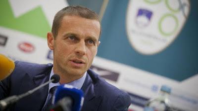Aleksander Ceferin  won election as the new UEFA president