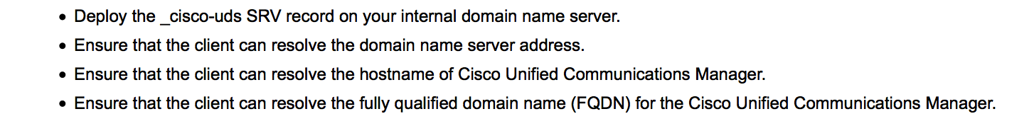 Cisco Jabber Directory options – Unified Networking