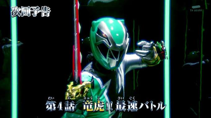 Spoiler Kishiryu Sentai Ryusoulger Episode 4, Pertempuran Tercepat