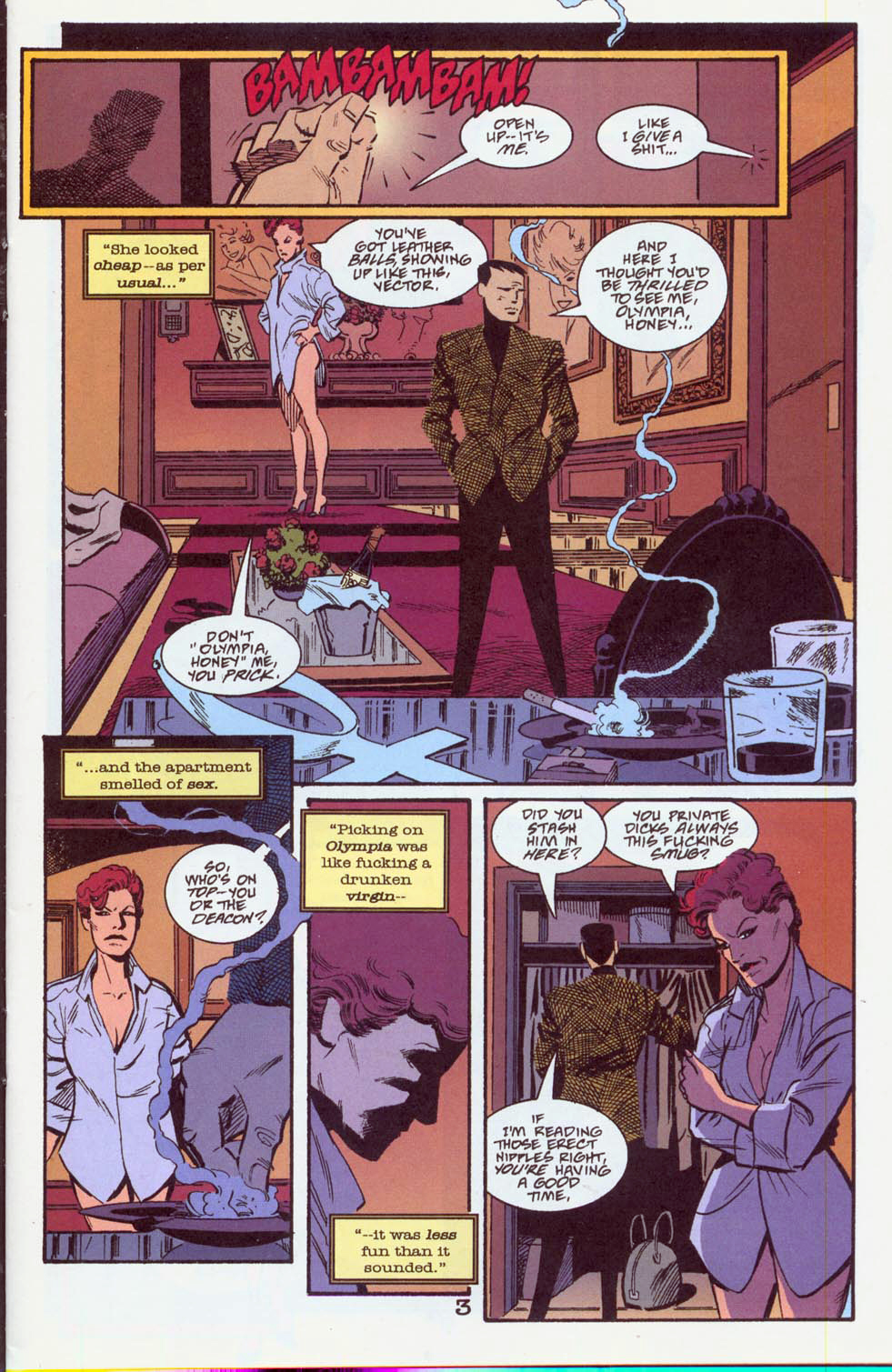 Read online Pulp Fantastic comic -  Issue #3 - 6