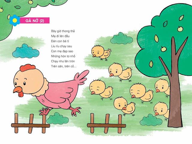thơ cho trẻ mầm non chủ đề động vật