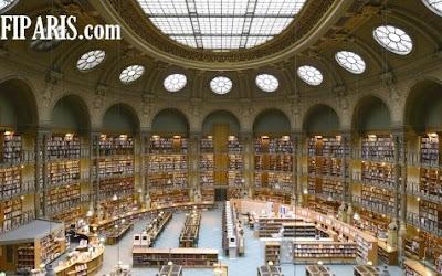 المكتبة الوطنية الفرنسية بباريس خمسة قرون من التراث المكتوب و أكثر من مليون وثيقة سمعية