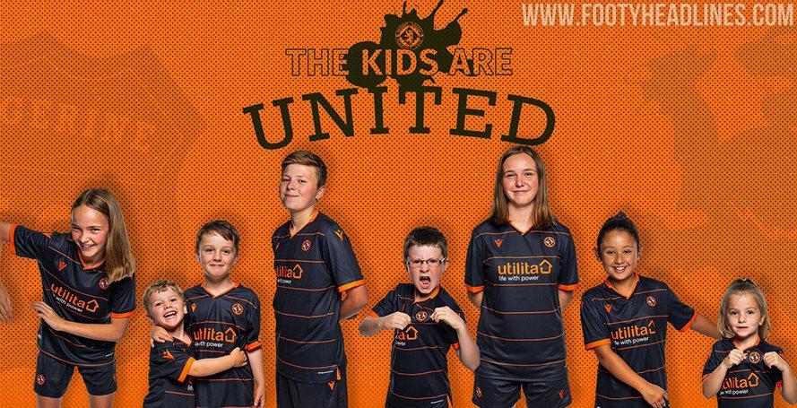 Dundee United 19-20 Home & Away Kits Revealed - Footy Headlines