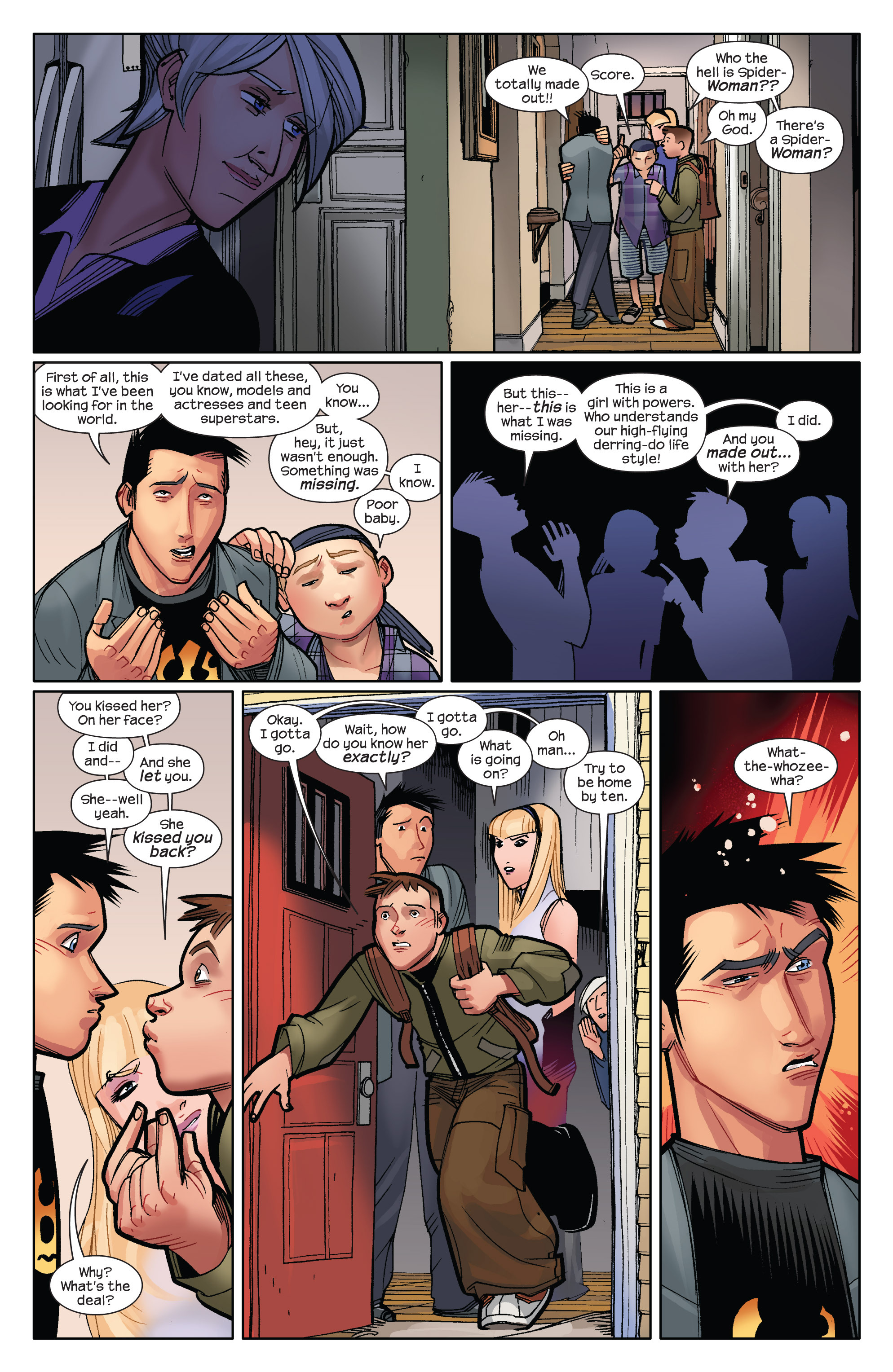 Read online Ultimate Spider-Man (2009) comic -  Issue #9 - 16