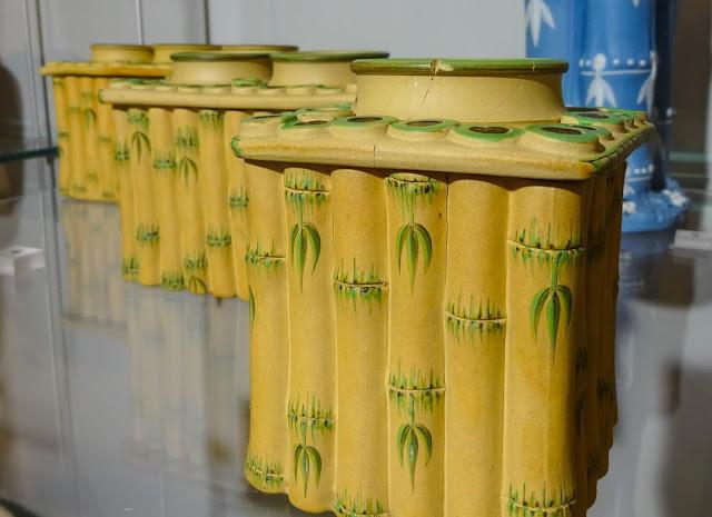Wedgwood Bamboo Style Pottery