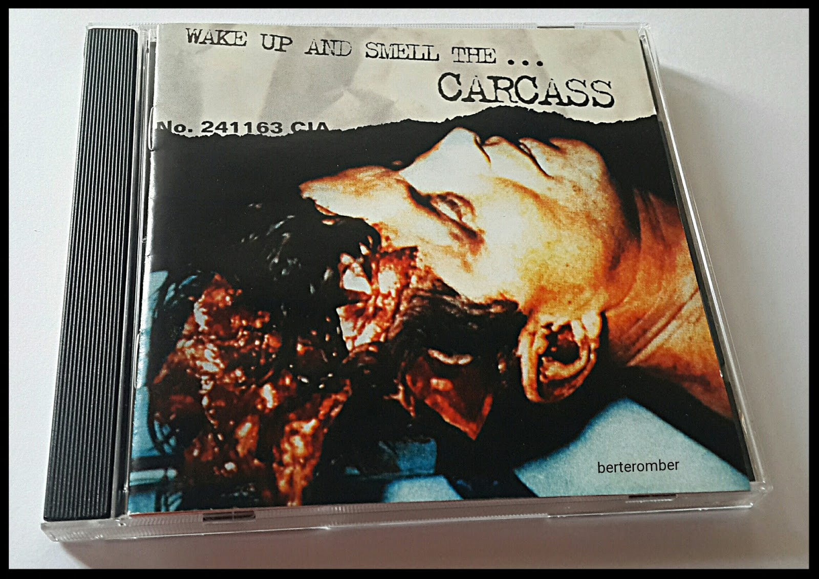 BERTEROMBER: Wake Up and Smell the Carcass