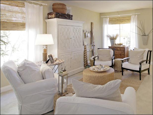 Cottage Decorating Ideas Living Room: Cottage Living Room Design Ideas