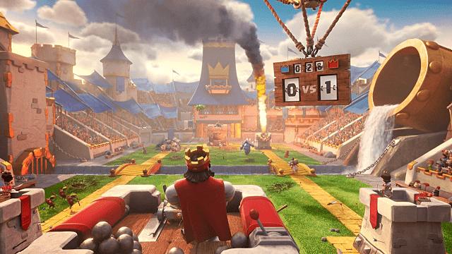 clash royale adalah game penerus coc yang dibuat oleh supercell
