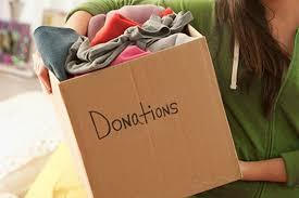 Donasi pakaian bekas