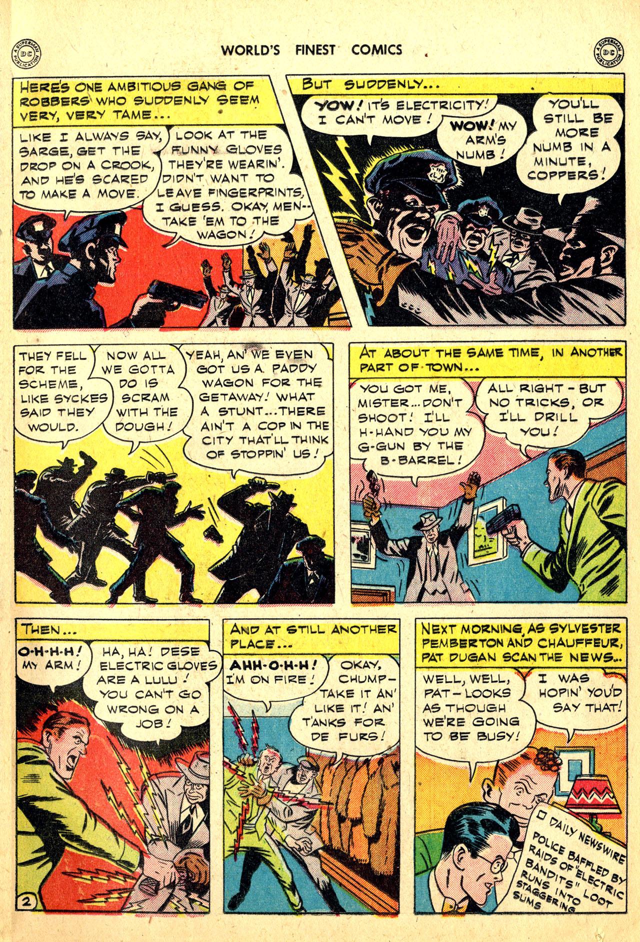 Read online World's Finest Comics comic -  Issue #18 - 17