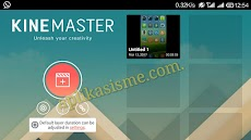 Edit video menggunakan KineMaster pada SmartPhone Android