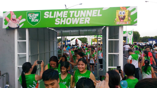 Slime Tunnel Shower