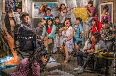 Wenn deramas thank you and goodbye to the director that for Ano ang mural painting