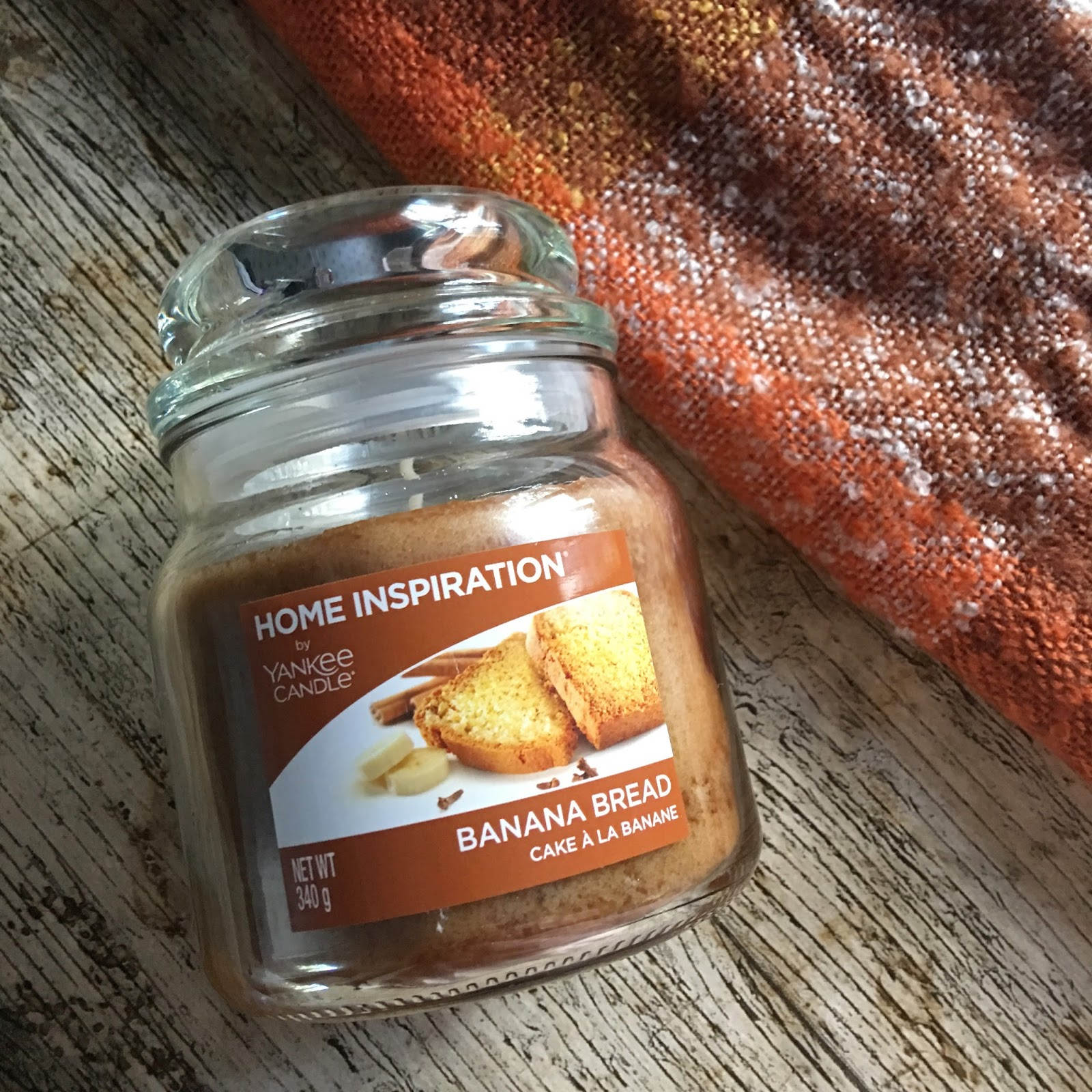 Yankee candle home inspirations banana bread review