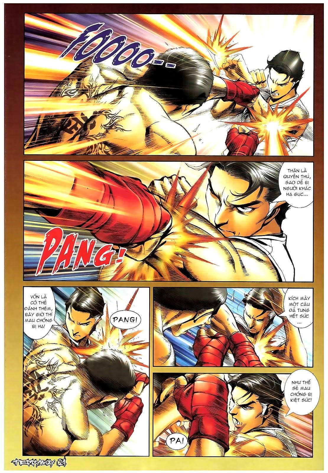 Người Trong Giang Hồ - Chapter 1387: Hạo Nam vs Điền Bân - Pic 17
