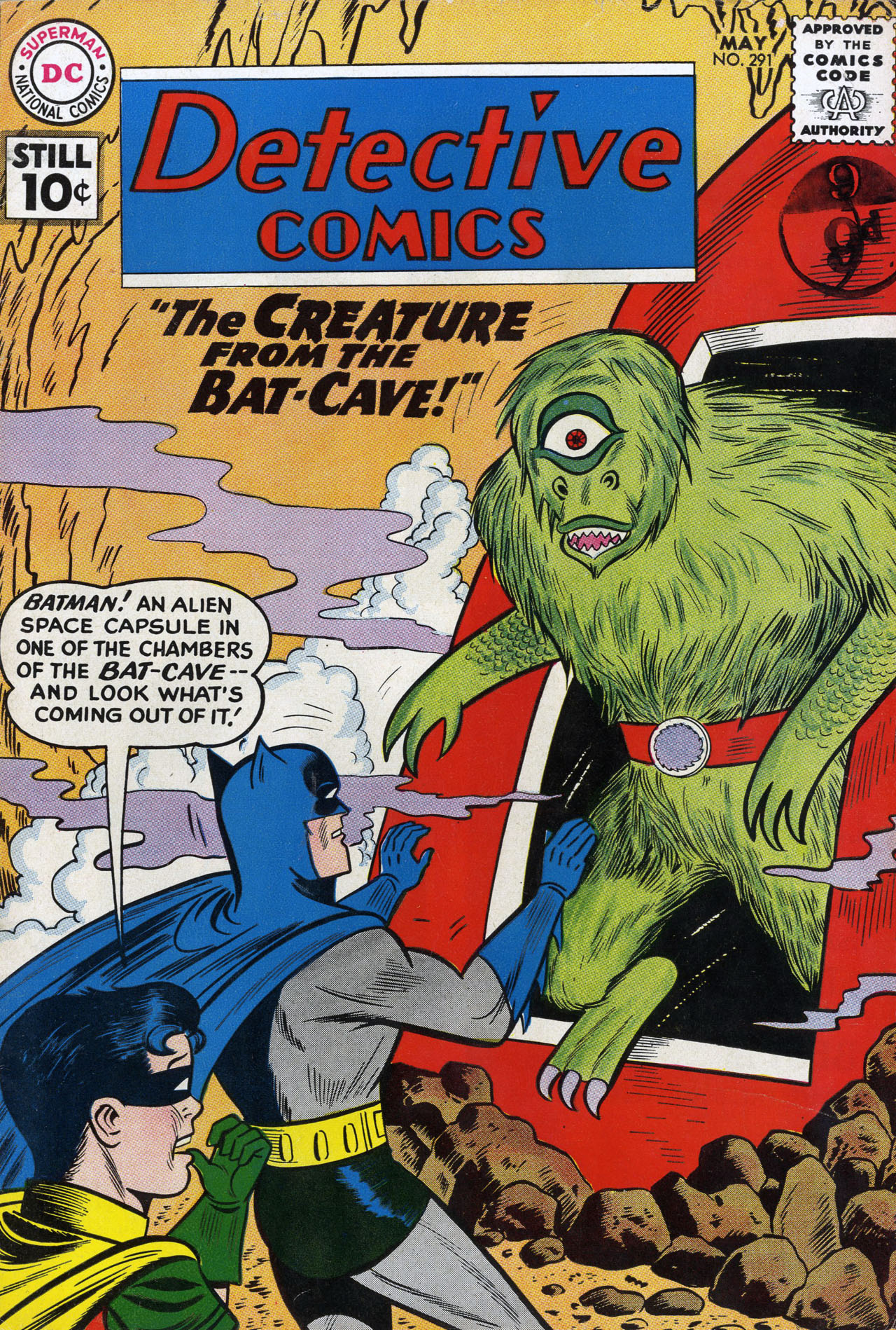 Detective Comics (1937) 291 Page 0