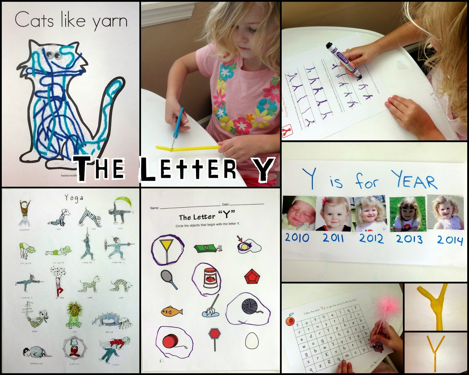 Mom S Tot School The Letter Y