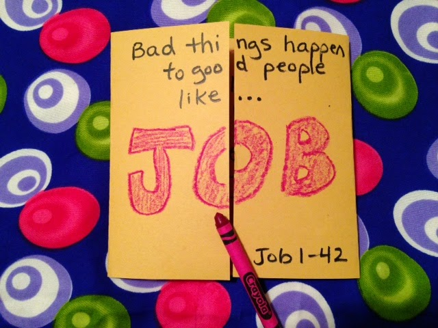 Children 39 s bible lessons lesson the patience of job for Junior church lessons and crafts