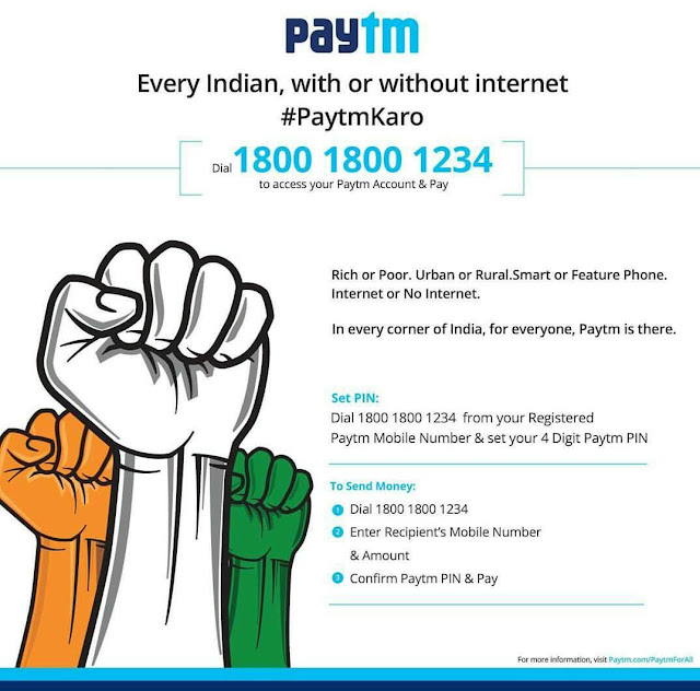 Paytm new offline payment method - Transfer Paytm Cash Without Internet Connection; Ola and Yes Bank will deliver money at your doorsteps