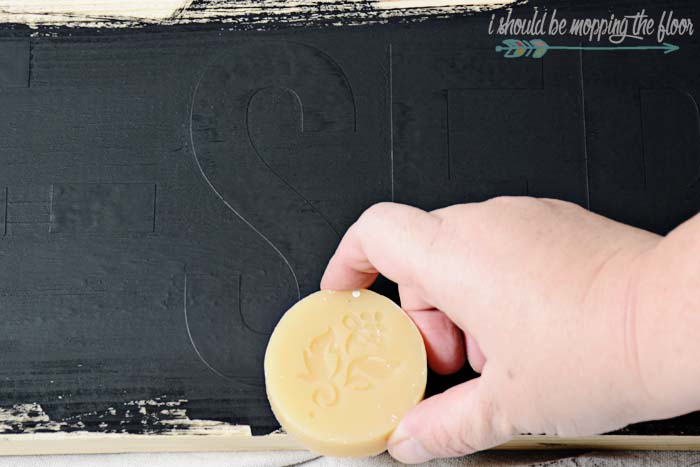 Wax Puck for Painting