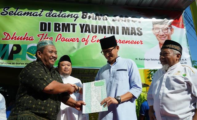 Gelar Dialog Dengan Pengurus BMT di Pati, Sandiaga Uno: Sudah Saatnya Jihad Ekonomi