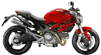motorbike insurance thailand DUCATI Monster 795 ABS Black (CKD)