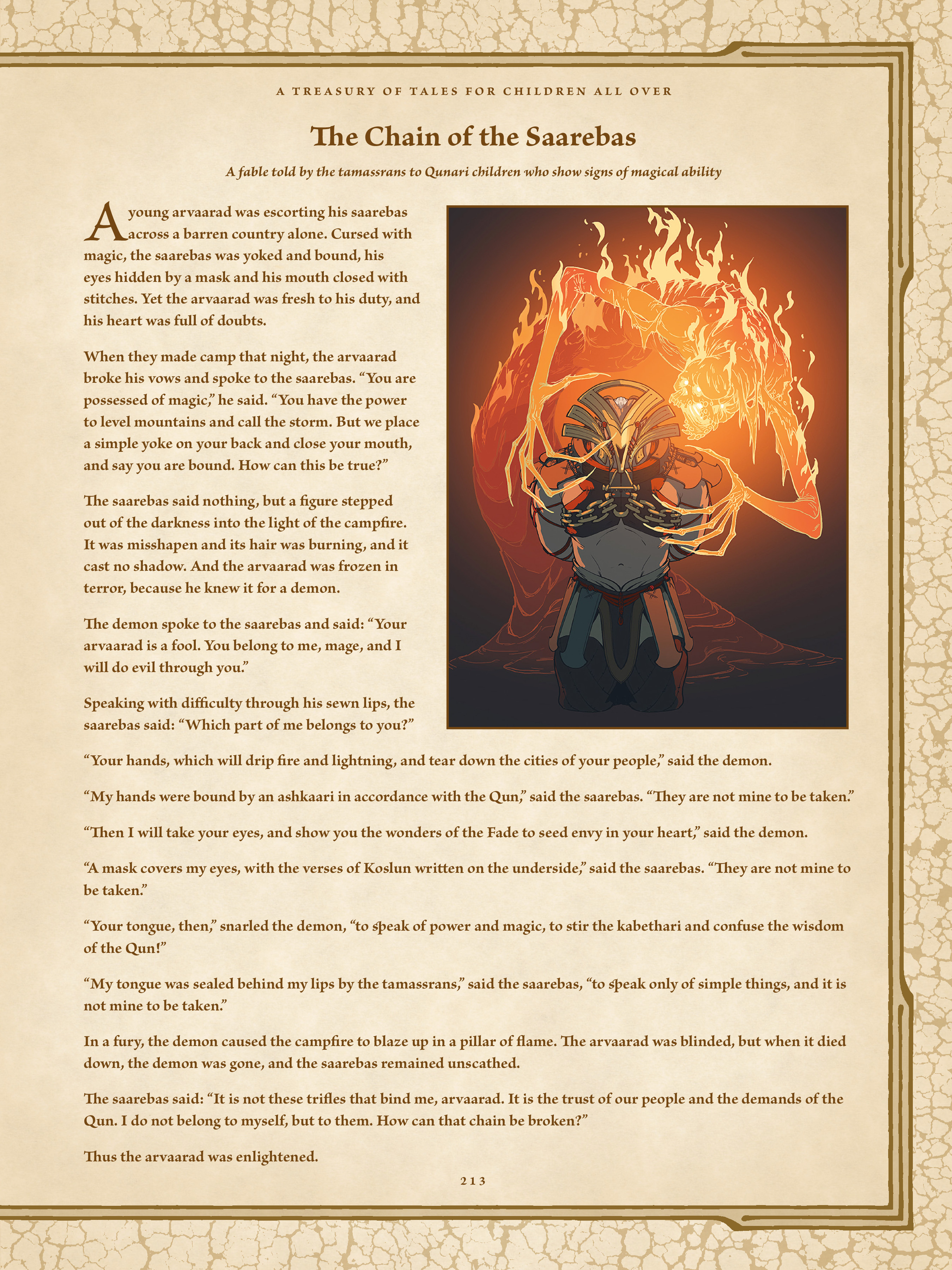 Read online Dragon Age: The World of Thedas comic -  Issue # TPB 2 - 208