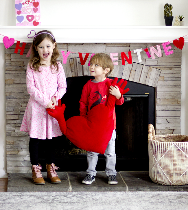 Happy Valentine's Day from Bubby and Bean!