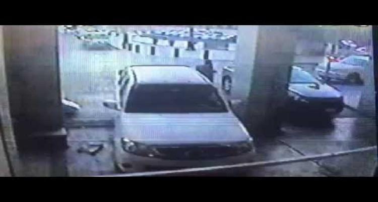 لحظة التفجير بجانب المسجد النبوي بالمدينة المنورة ( فيديو )