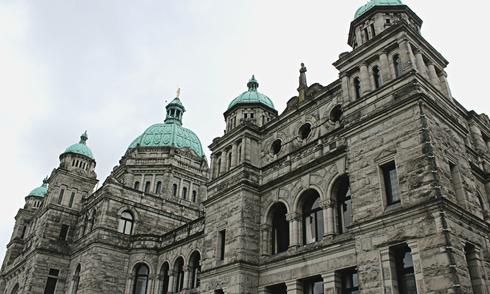 British Columbia Legislature Parliament Building Victoria