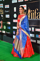 Priya Shree in Beautiful Blue Saree at IIFA Utsavam Awards 2017  Day 2    HD Exclusive Pics 28.JPG