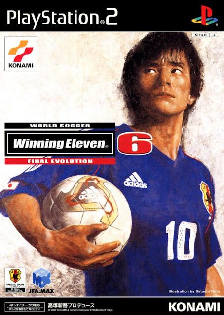 World Soccer Winning Eleven 6 Final Evolution ps2 iso rom download