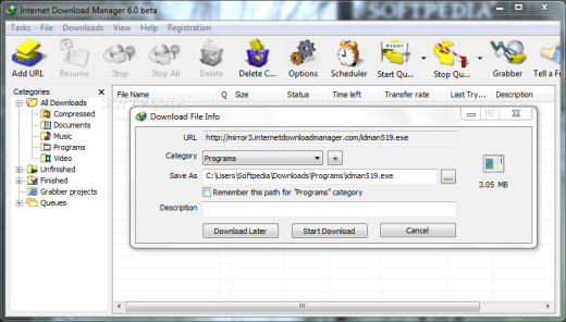 free download internet download manager 6.07 patch serial rar