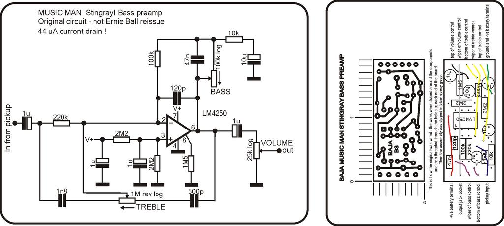 Musicman Bass Wiring Diagram