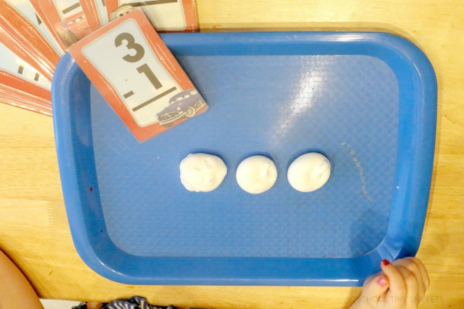 teach child subtraction