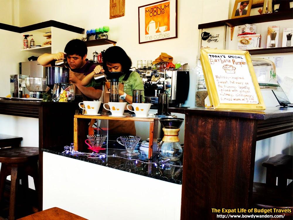 bowdywanders.com Singapore Travel Blog Philippines Photo :: Singapore :: Magnum Opus Fine Coffee Gallery in Parañaque