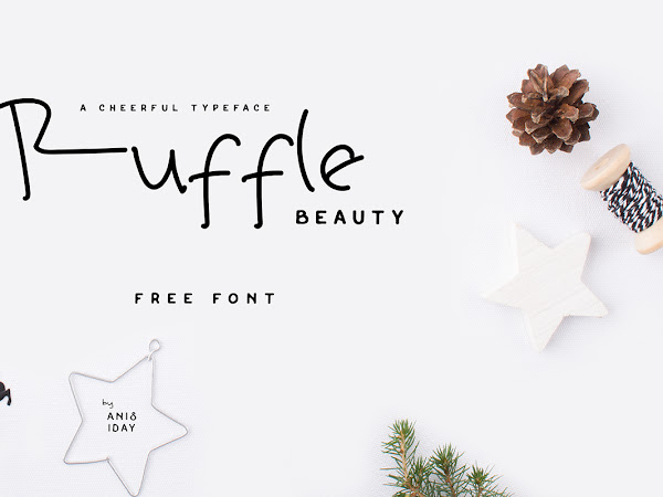 Download Ruffle Beauty Font Free