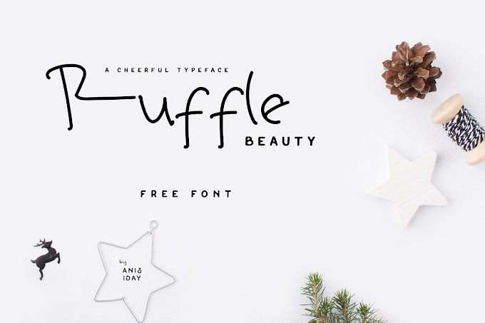Ruffle Beauty Font - Free For Commercial Use