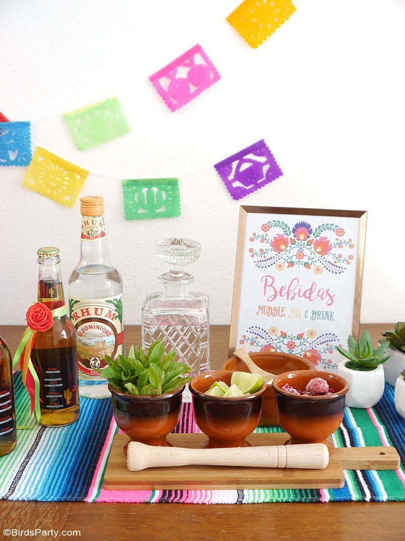 A Colorful Cinco de Mayo Mexican Fiesta - Party Ideas | Party ...