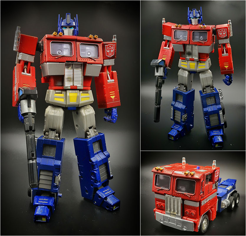 Transformers Masterpiece Optimus Prime MP01 Megatron accessory ONLY