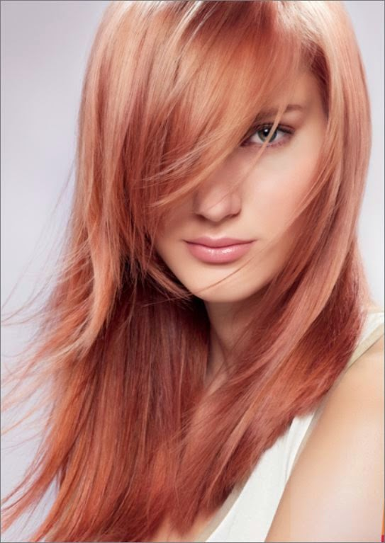 Rose Gold Professional Hair Color